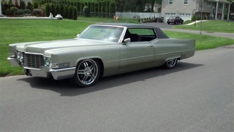 69 cadillac coupe for sale 69 cadillac coupe lowered 20 quot wheels classic