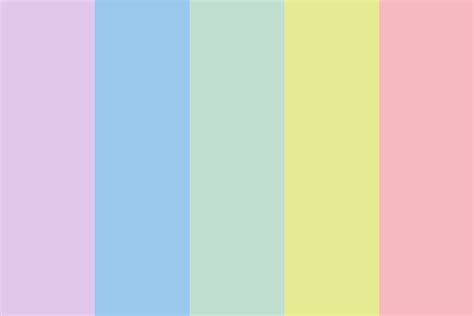 baby color baby pastel color palette