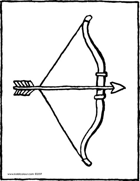 coloring page of bow and arrow indian bow and arrow coloring pages sketch coloring page