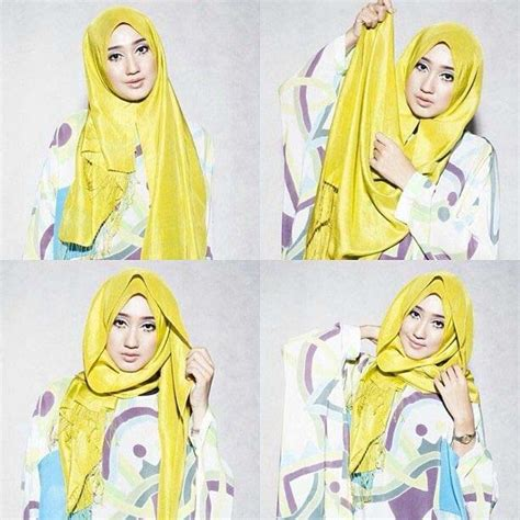 tutorial jilbab simple dian pelangi beautiful hijab style collection with tutorial stylo planet
