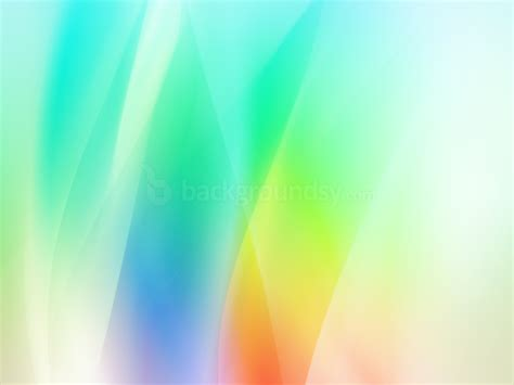 Rainbow Ppt Background 307 Rainbow Background For Powerpoint