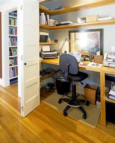 Small Home Office Built In 22 Built In Home Office Designs Maximizing Small Spaces
