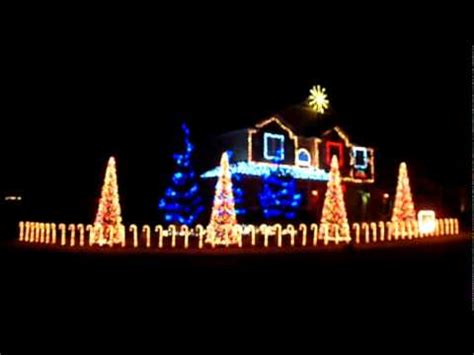 cadger christmas light show 2010 wizards in winter youtube