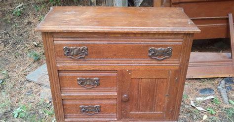 John Mark Power Antiques Conservator Oak Bedroom Set Ca