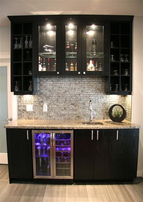kitchen designs by delta willowgrove saskatoon bar contemporary home bar