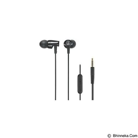Audio Technica Ath Clr100is Ath Clris Clr100is Clr 100 Is Black jual earphone in ear monitor audio technica sonicfuel in