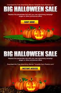 free psd advertisement poster halloween template by