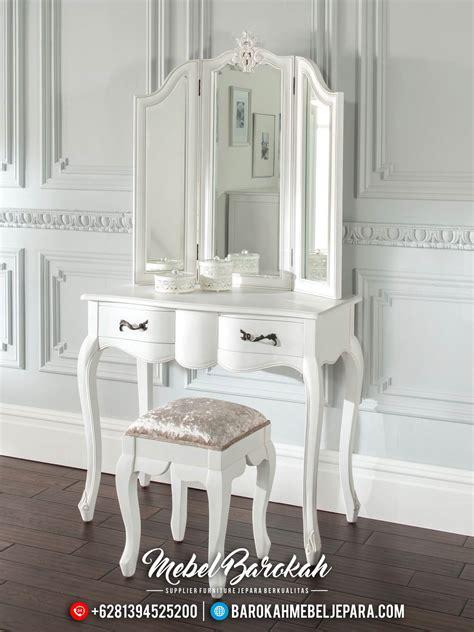 Meja Rias Shabby meja rias minimalis putih modern shabby mewah terbaru jm