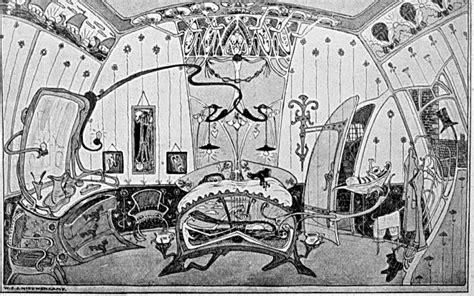Belgian Interior Design by Henry Van De Velde Art Nouveau