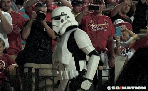 cardinals' star wars night leads to 'gangnam style