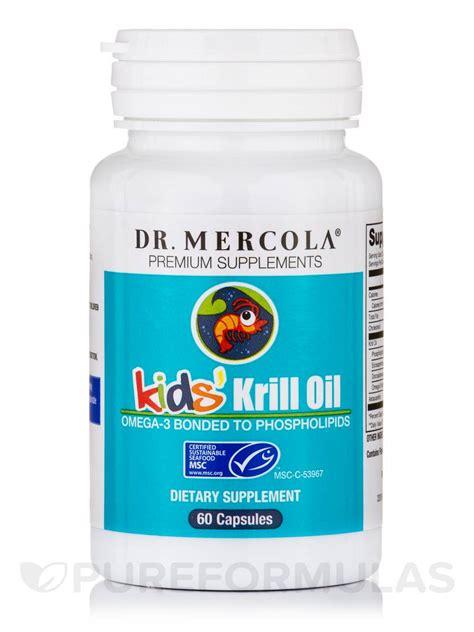 Diskon Dr Mercola Krill 60 Capsules kid s krill 60 capsules