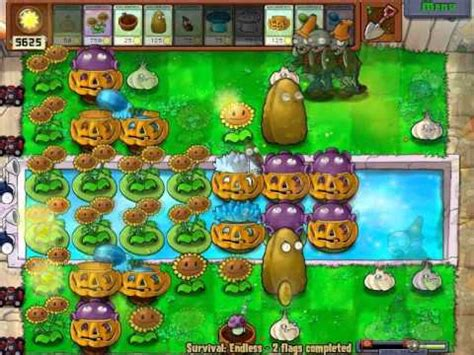 tutorial plant vs zombie survival endless plants vs zombies tutorial how to put the ladders for