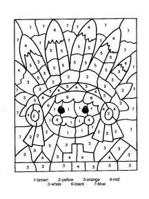 color by number free color by number coloring pages new