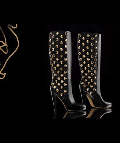 Gucci Shoes Collection For Fall Fierce Yet Sassy by 18 Babouska High Heel Boots With Studs Gucci Shoes