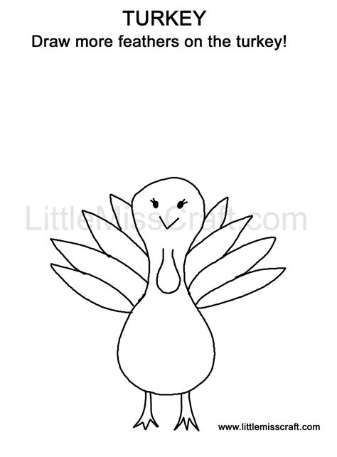 turkey doodle coloring page crafts thanksgiving turkey doodle coloring page