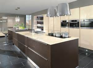 Cream Gloss Kitchens Ideas by Cream Brown Kitchen Gloss Modern Kitchen Ideas Pinterest