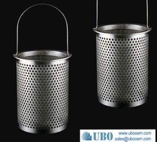 stainless steel316hc filter strainer baskets perforated filter basket filter element filter strainer ubo filter equiment co ltd