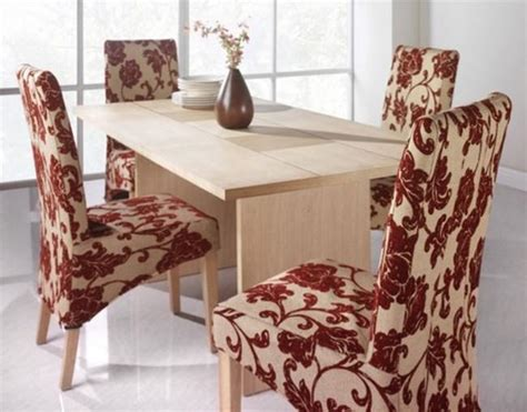 Pattern For Dining Room Chair Covers Furniture Flower Pattern For Dining Chairs Slipcovers How To Make Slipcovers For Dining Room