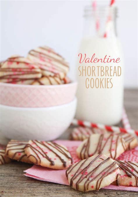valentines shortbread shortbread cookies somewhat simple