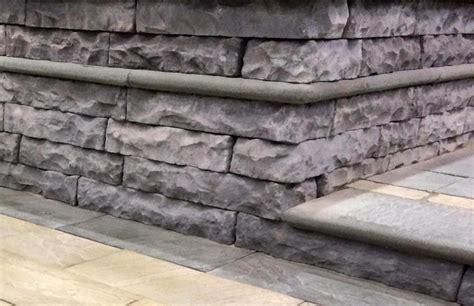 Retaining Wall Coping Bullnose Coping Coping Pavers Retaining Walls