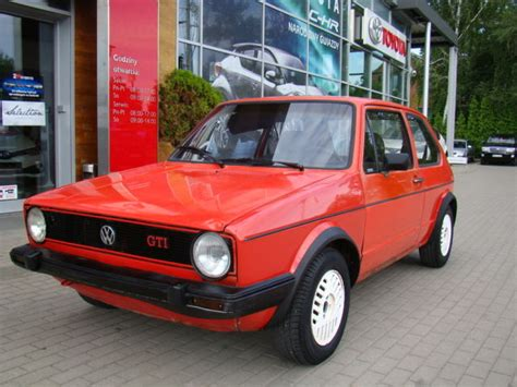 volkswagen golf 1980 volkswagen golf gti mk 1 bj 1980 catawiki