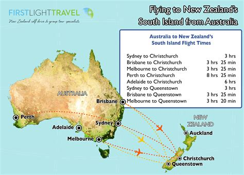 map showing australia and new zealand tips advice on getting to new zealand nz planner