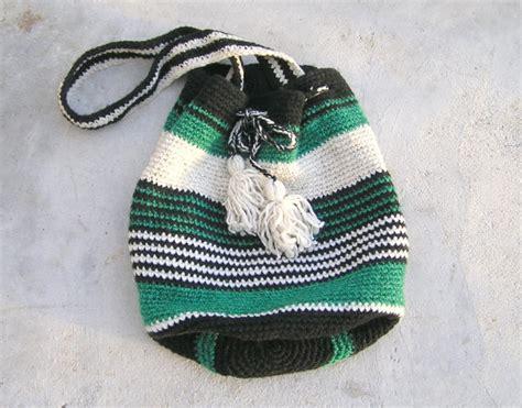 crochet pattern for boho bag crochet striped bag pattern boho bag crochet tutorial green