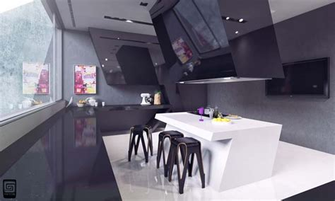Design For Futuristic Kitchen Ideas Futuristic Kitchen Design By M1tos