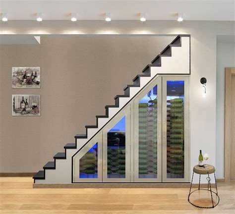stairs storage ideas 20 eye catching stairs wine storage ideas