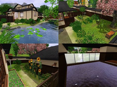 Home Interior Design Basics Mod The Sims Himeya Inn Another Japanese House