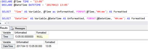 format date query sql server formatting time variable in sql server kohera