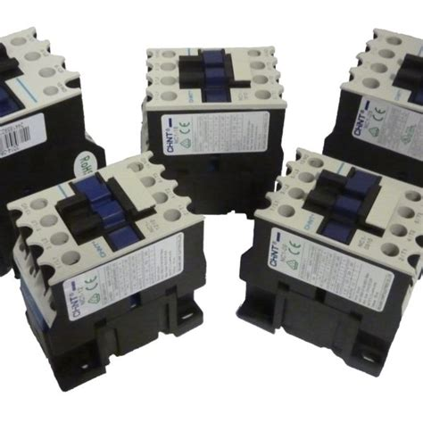 Magnetic Contactor Chint 3 Poles 9a Nc1 0910 Nc1 0901 Chint Nc1 2510 Contactor Chalon Components Ltd