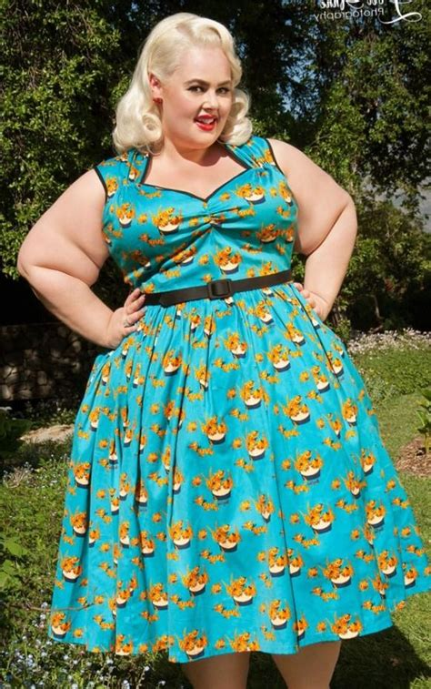 swing dress size 24 pin up plus size dresses pluslook eu collection