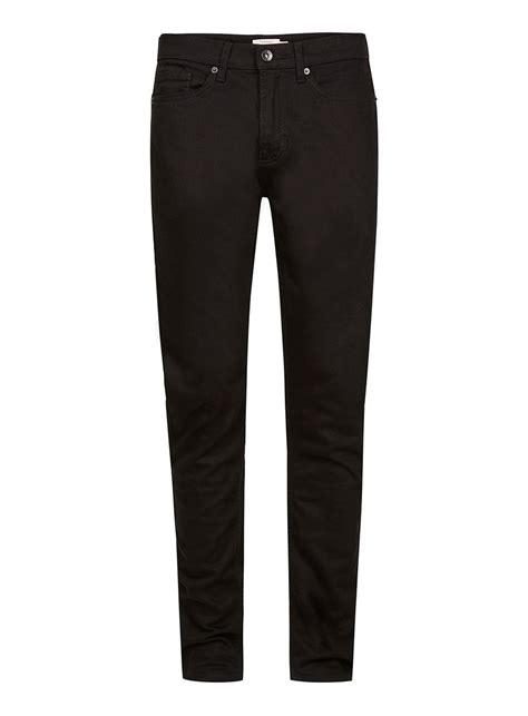 skinny jeans black mens black stretch skinny jeans topman usa