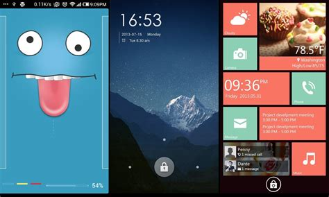best android lock screen best lock screens for your android phone technobezz