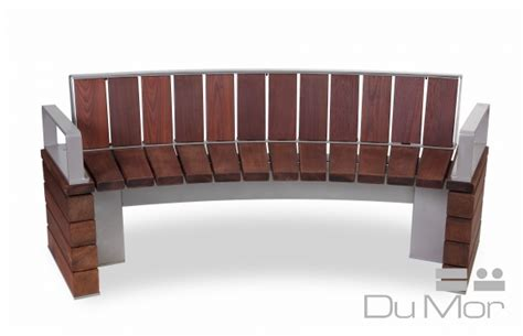 dumor benches curved bench 278 dumor site furnishings