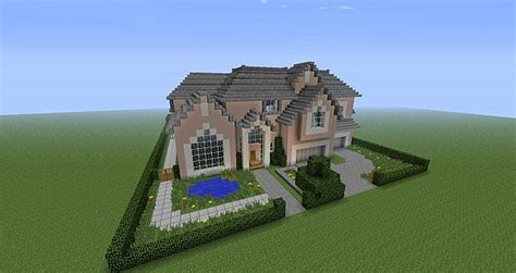 looking to build a house realistic house by smigglez minecraft project
