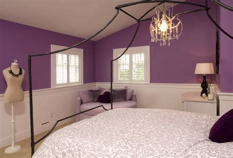 purple teenage bedrooms purple teen girl s bedroom traditional kids seattle