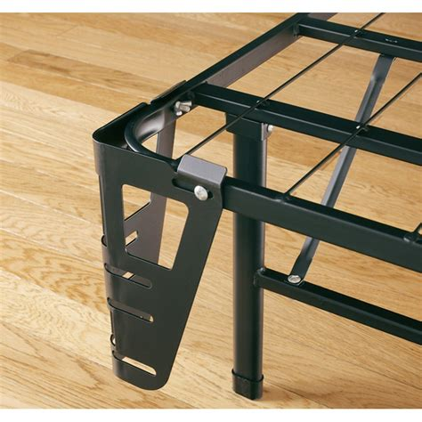 Metal Bed Frame Footboard Bracket Headboard Footboard Brackets For Boyd Metal Platform Bed Frame Fastfurnishings