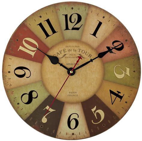 colorful wall clocks adalene cafe de la tour colorful wall clock