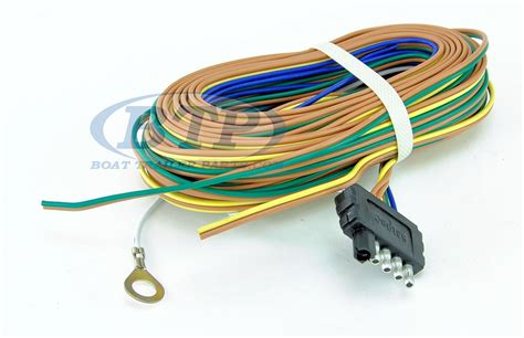 boat trailer light wiring harness 5 flat 35ft to re wire