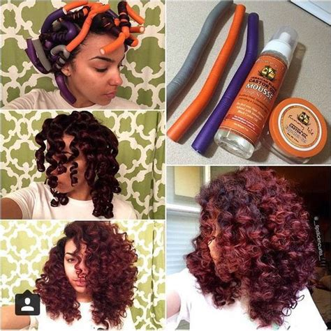 black women flexi rod hair styles video flexi rod tutorial on transitioning or relaxed hair