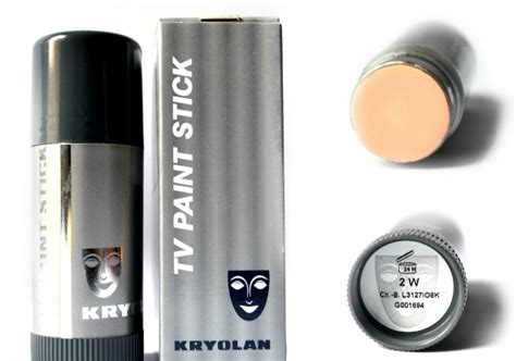 Makeup Base saloni special product review best kryolan foundations