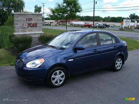 Blue Hyundai Accent by 2007 Sapphire Blue Hyundai Accent Gls Sedan 32268863