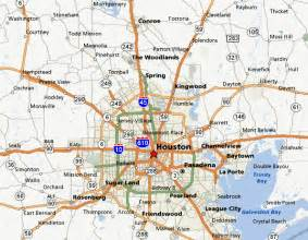 greater houston map