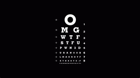 vision wallpaper black and white 1920x1080 letters different font the vision test black