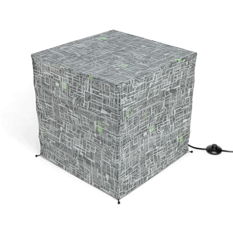 star wars death star giant paper lantern thinkgeek star trek borg cube giant floor standing paper lantern