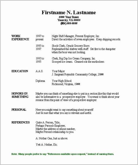 Free Printable Resume Templates Microsoft Word by Free Printable Resume Templates Microsoft Word Resume