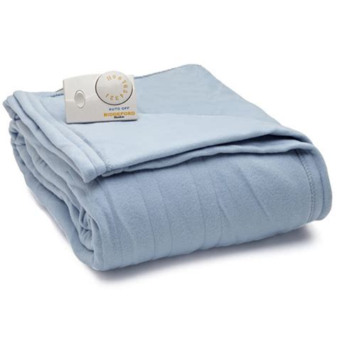Biddeford Comfort Knit Fleece Electric Heated Blankets