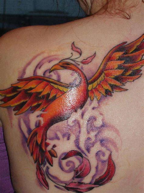 tattoo burung phoenix phoenix tattoos psychotattoos